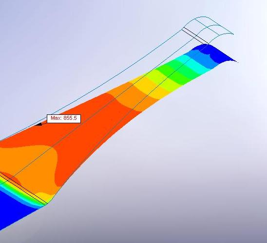 FEA electrical contact